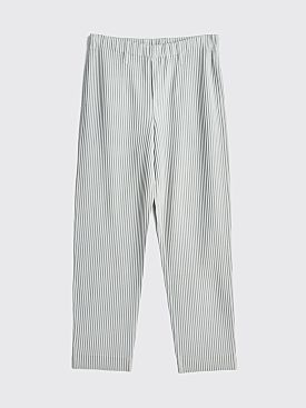 Homme Plissé Issey Miyake Pleated Pants Light Grey