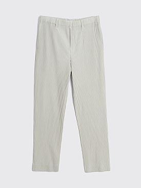Homme Plissé Issey Miyake Pleated Pants Light Grey