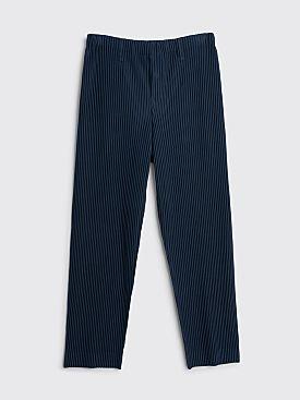 Homme Plissé Issey Miyake Pleated Basics Pants Navy