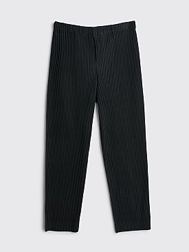 Homme Plissé Issey Miyake Pleated Basics Pants Black