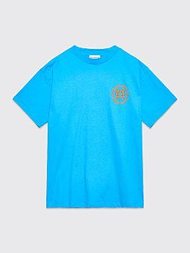 Honey Fucking Dijon Logo T-shirt Blue