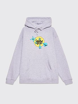 IGGY Throwing Darts Hooded Sweatshirt Grey