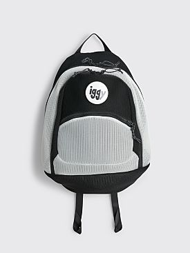 Iggy Mesh Backpack Black