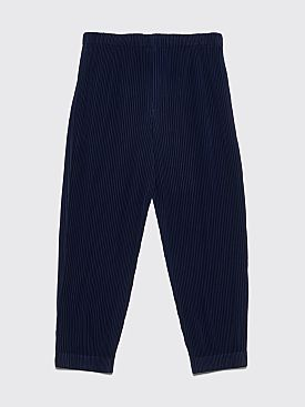Homme Plissé Issey Miyake Pleated Relaxed Pants Dark Blue