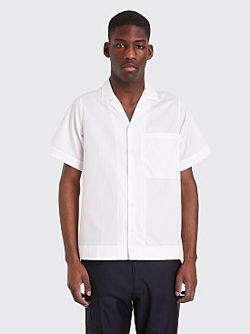 Jacquemus Short Sleeve Shirt White