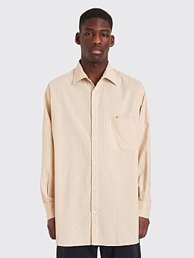 Jacquemus Large Shirt Beige / Brown