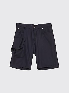 Jacquemus Gadjo Shorts Dark Navy