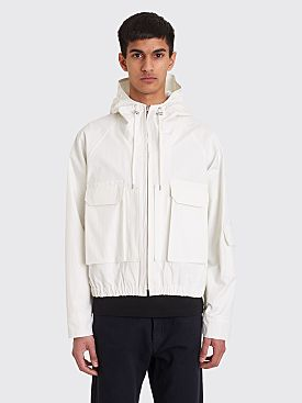 Jacquemus Lightweight Hooded Jacket Off White