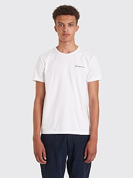 Jacquemus Logo T-shirt White