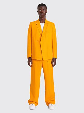 Jacquemus Moulin Tailored Pants Orange