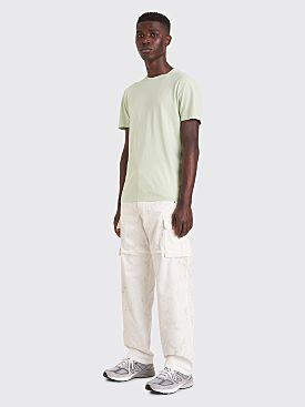 Jacquemus Pêche Zip Pants Floral White