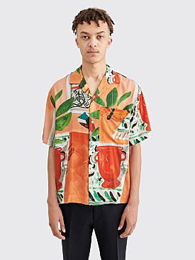 Jacquemus Jean Matisse Print Shirt Orange