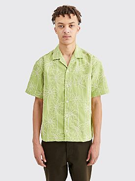 Jacquemus Jean Flower Shirt Light Green