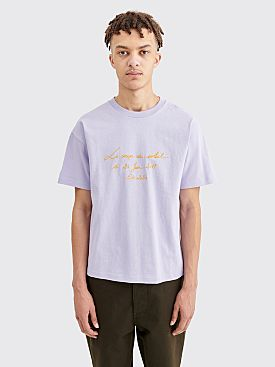 Jacquemus Coup De Soleil T-shirt Light Purple