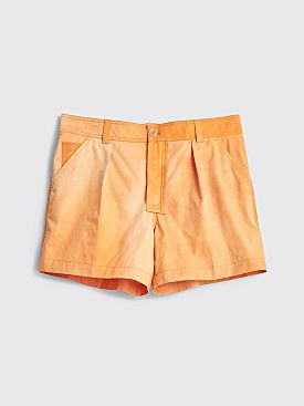 Jacquemus Tennis Shorts Orange
