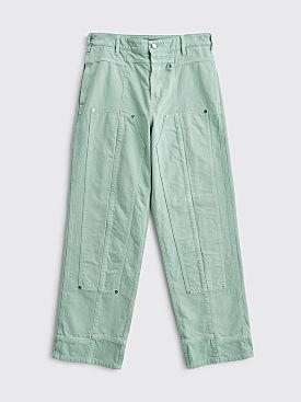 Jacquemus Le de Nimes Soleil Jeans Green