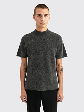 Jacquemus Le T-shirt Maille Dark Grey