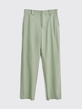 Jacquemus Le Pantalon De Costume Light Green
