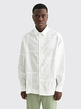 Jacquemus La Chemise Mouchoirs Embroidery White