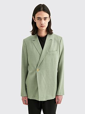 Jacquemus La Veste Moulin Light Green