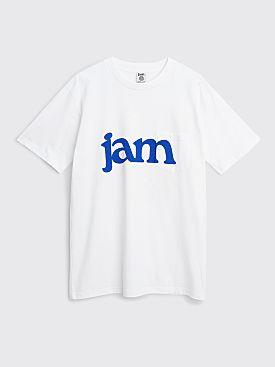 JAM Logo Pocket T-shirt White