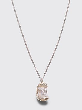 Bleue Burnham Rose Pendant Clear
