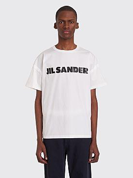 Jil Sander Logo CN T-shirt White