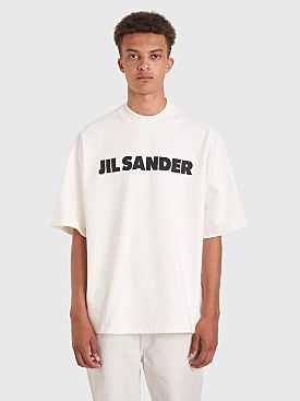 Jil Sander Logo T-shirt White