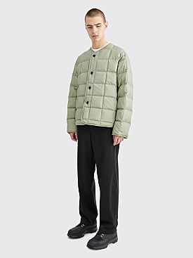 Jil Sander Padded Insulator Jacket Light Pastel Green