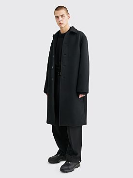 Jil Sander Thomas Wool Coat Jacket Black