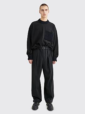 Jil Sander Terrick Wool Pants Black