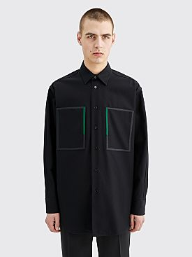 Jil Sander Archer Shirt Dark Blue