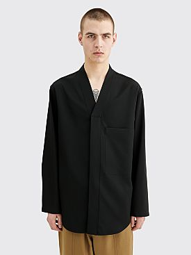 Jil Sander Abbot Wool Shirt Black