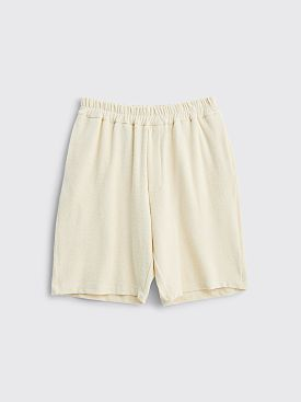 Jil Sander Terry Shorts Natural