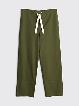Jil Sander+ Drawstring Turn Up Pants Medium Green