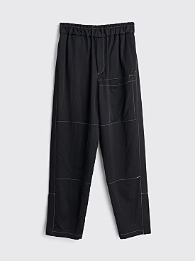 Jil Sander Patches Pants Black