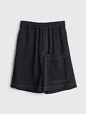 Jil Sander Relaxed Shorts Black