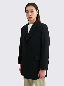 Jil Sander Tailored Wool Jacket Black
