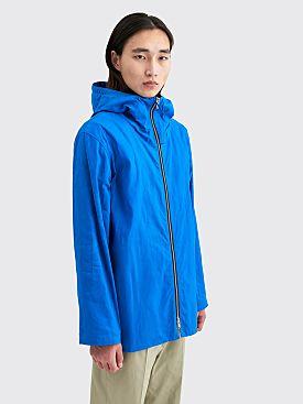 Jil Sander Hooded Technical Jacket Bright Blue