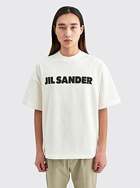 Jil Sander+ Logo T-shirt Natural