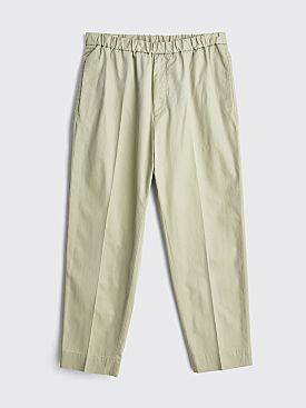 Jil Sander Cropped Pants Light Pastel Grey