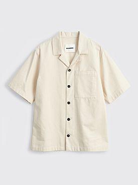 Jil Sander+ Workwear Shirt Open Beige