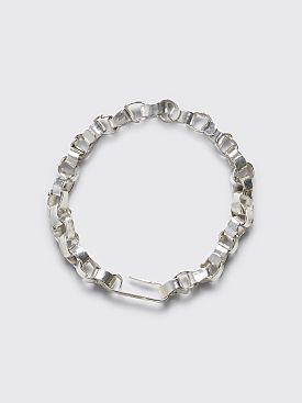 Jil Sander Geometry Bracelet Silver