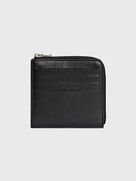 Jil Sander Multi Card Wallet Black