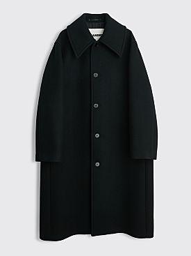Jil Sander Wool Coat Black