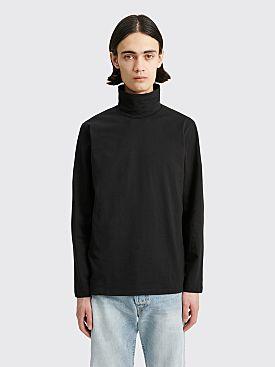 Jil Sander+ Long Sleeve Turtleneck T-shirt Black