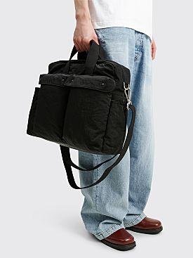 Jil Sander Overnight Holdall Bag Black