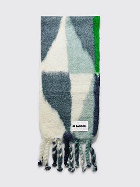 Jil Sander+ Scarf Color Block Blue / Green
