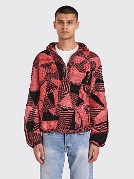 Judy Turner Beta Hooded Sweater Red / Black