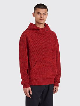 Judy Turner Spugna Hooded Sweater Crimson